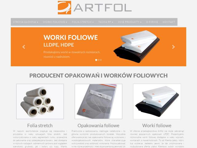 ARTFOL Sp. z o.o. sp. k. • Producent folii